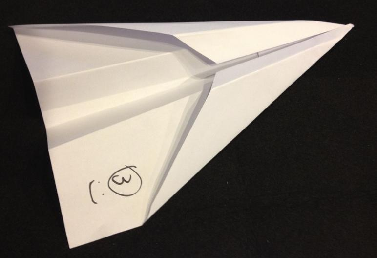 "Paper Airplane Design ""The Arrow"""
