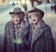 Identical Twins Marian and Vivian Brown