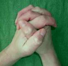 Hand Clasping Left Thumb On Top Is Dominant