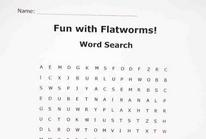 Flatworm Planaria Word Search
