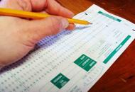 Scantron Test Form Being Used